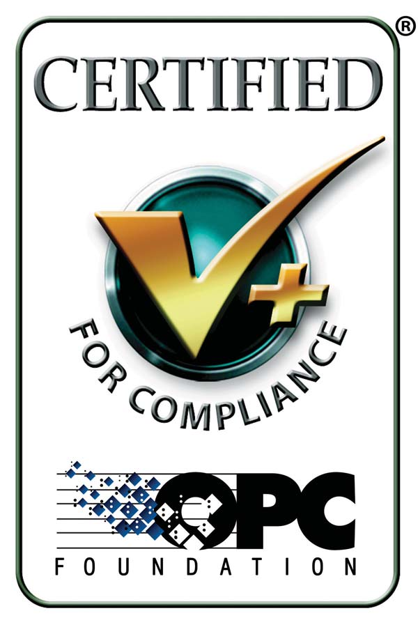 OPC Foundation Certified for Compliance logo
